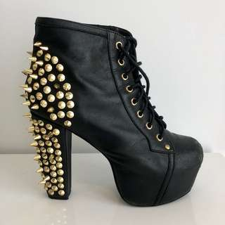 Authentic Jeffrey Campbell Lita Spike