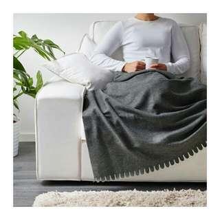 Ikea polarvide selimut grey 130*170