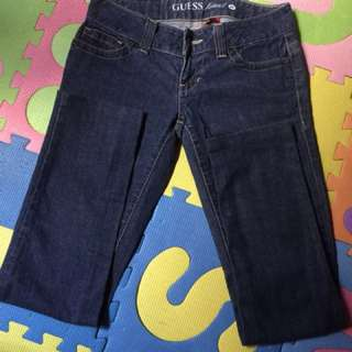 Guess skinny pants size 26