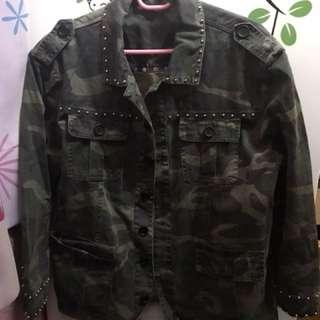韓版迷彩外套