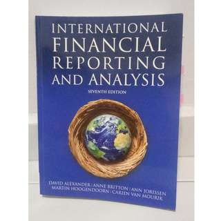 International Financial Reporting and Analysis - Seventh Edition