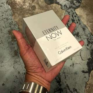 Authentic Original Calvin Klein Eternity Now Perfume 100ml Limited Stock First Come First Served 😎👍