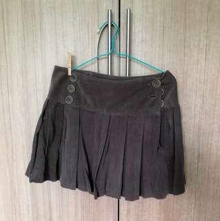 Maxstudio brown skirt - size s