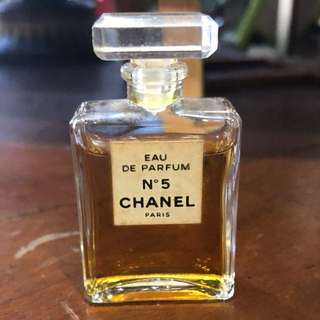 Vintage Mini Perfume Chanel No 5 8 ml 0.27 oz Eau de Parfum