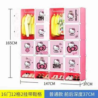16cubes Hello Kitty DIY Cabinet