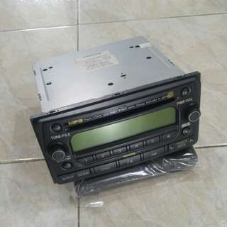Car amplifier with disc