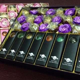 星空棒棒糖+巧克力