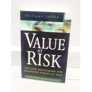 Value At Risk - The Benchmark For Managing Financial Risk - International Edition