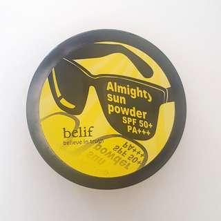 Belif Almighty Sun Powder SPF50+