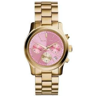 Michael Kors Gold Pink Runway