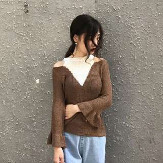 🆕 READY STOCK KNITTED TOP