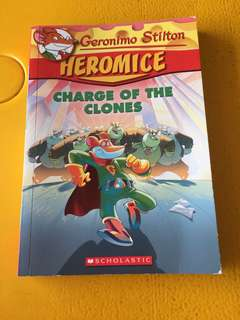 Geronimo Stilton Heromice - Charge of the Clones