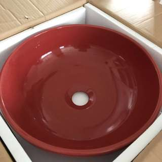 Brand New Red Sink