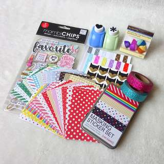 *Restocked* BN Essential Scrapbooking Set 2