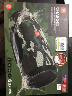 JBL Charge 3 Camo green Limited Edition
