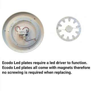 LED Magnet Plate light