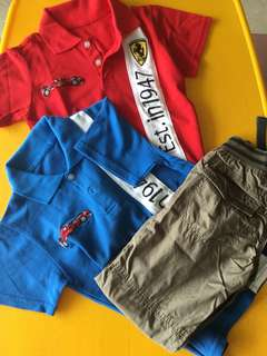 Boys Clothes - Ferrari (4-6yrs)