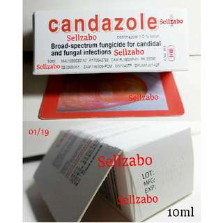Prevent Infections Candazole Solution Lotion Fungicide For Candidal Fungal Toe Nails Toenails Fungus Baterial