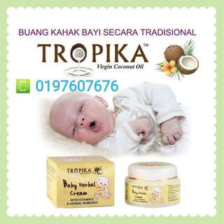 🍀👶KRIM BAYI TROPIKA/ TROPIKA BABY HERBAL CREAM