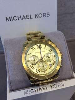 Michael Kors豪華金鋼錶