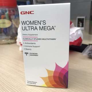 GNC Women's multivitamin