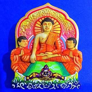 ⭐️Lp Ket Buddha & Phayana Amulet Be2560