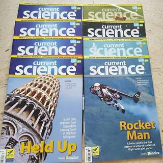 Current Science Asia Edition