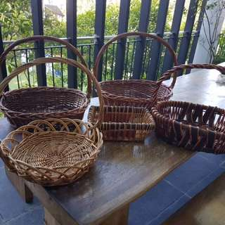 Baskets (set of 5)