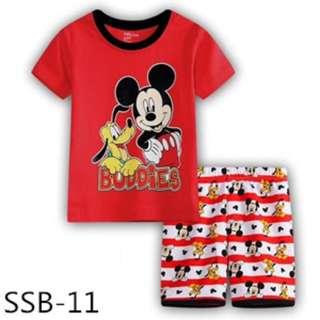 Mickey tee set