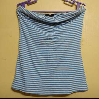 H&M Striped Tube Top