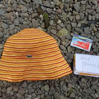 LACOSTE BEACH HAT