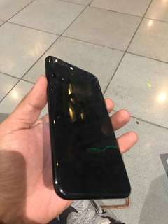 Iphone 7plus 128gb factory unlock jetblack.