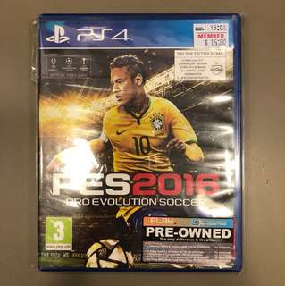 PS4 Preowned PES2016