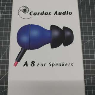 Cardas A8 Earspeakers