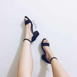 Repriced!Block heels sizes 6,7,8
