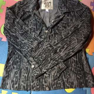 Maong jacket medium size