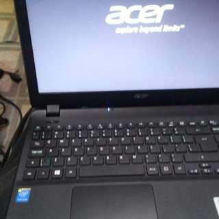 Acer 4核手提電腦  model ms2394 ,n3540 cpu ,15.6inch. Led 95% 新