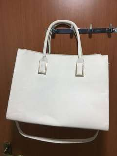 H&M white bag (bigger than A4 size)