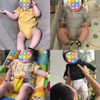 Assorted Romper Clothes for Baby