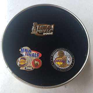 Lakers limited edition pins