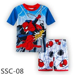 Spiderman tee set