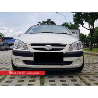 Hyundai Getz 1.6M 3DR (COE till 06/2021)