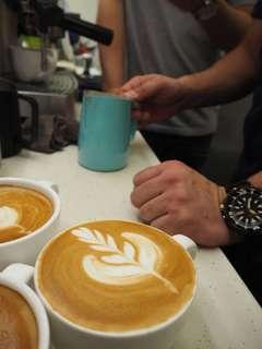 初階咖啡拉花課程⭐️