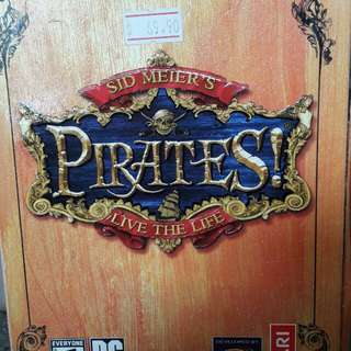 Preloved PC Game PIRATES
