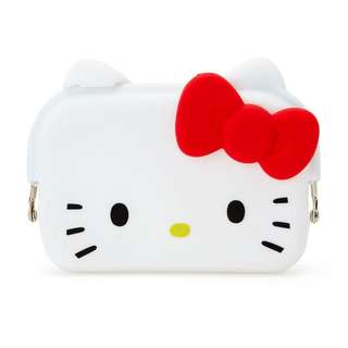 Japan Sanrio Hello Kitty Silicone Pouch Card Case