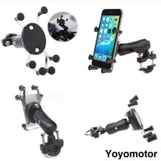 FREE DELIVERY X GRIPS HP HOLDER HANDLE BAR MOUNT(6 GRIPS)best selling👍🏻👍🏻👍🏻