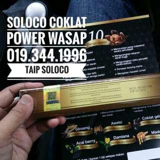 SOLOCO COKLAT POWER WASAP AUSTRALIA