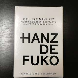 Promotion: Hanz De Fuko Deluxe Mini Kit