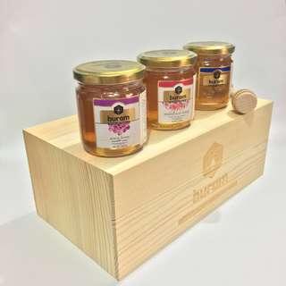 歐洲蜂巢蜜品牌 Buram Honey 細樽裝250G系列