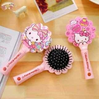 Hello kitty hairbrush